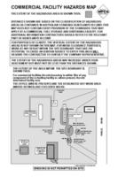 Commercial Facilities Hazards Map